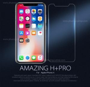 Dán màn hình cường lực 9H+ PRO hiệu Nillkin cho iPhone X